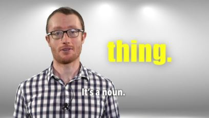 Everyday Grammar - Lesson 141: Thing